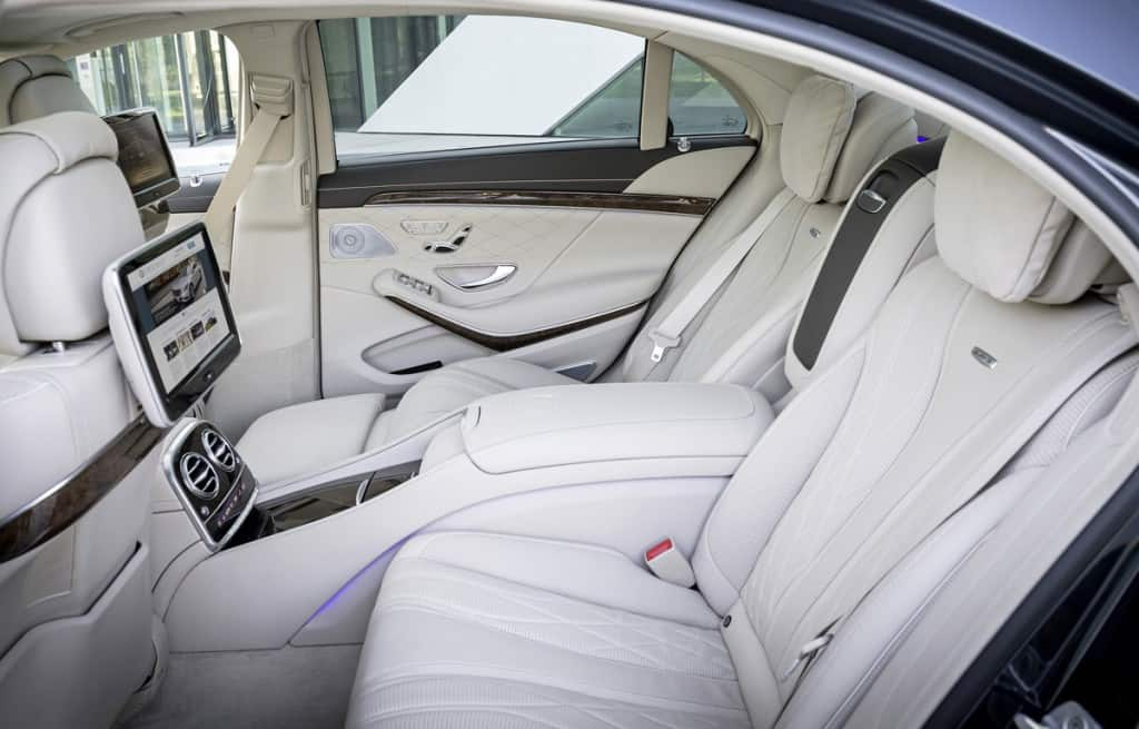 Portcullis Executive Travel | Mercedes Benz S-Class Limousine Comfort