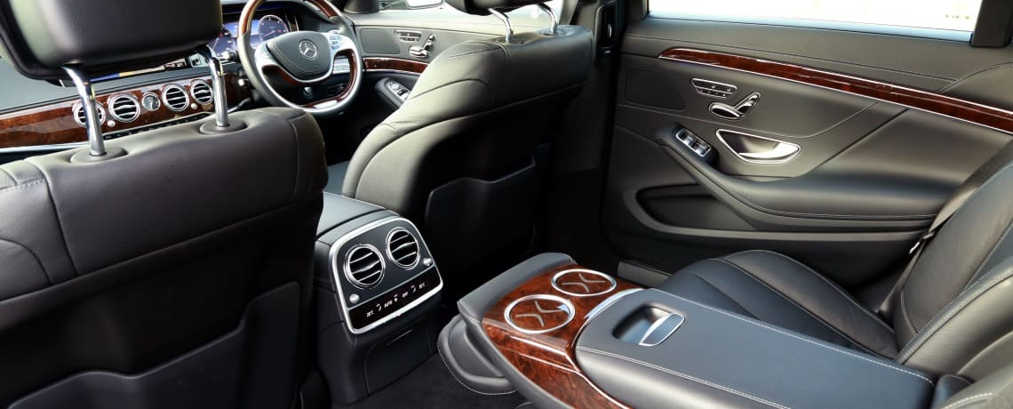 Immaculate interiors, including the most recent S-class with panoramic roof