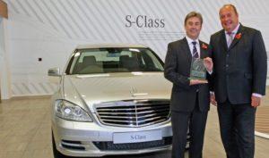 Portcullis Executive Travel |  Mercedes S-class-award