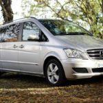 Portcullis Executive Travel | Mercedes Benz Viano Chauffeured Car Exterior