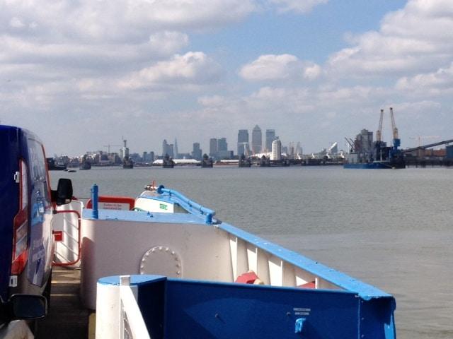 Woolwich Ferry vs Blackwall Tunnel